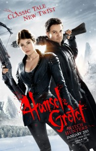 Hansel and Gretel Witch Hunters Film Poster 2013